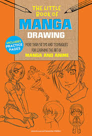 manga drawing the little book of