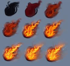 Fire - tutorial by ryky on DeviantArt