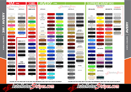 3m 1080 Colors Chart 27 Disclosed Avery Vinyl Color Chart
