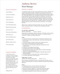hotel operations manager resume supply operation manager resume
