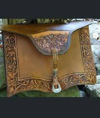 hand tooled leather briefcase unique rustic chic from rusticartistry com