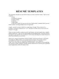 Executive Assistant Cover Letter Examples Acting Resume Template Fillable Printable Pdf Forms Handypdf