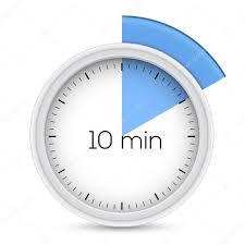 Timer 10min Ten Minutes Timer Stock Vector Frbird 51668419