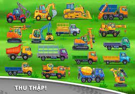 Trò chơi xe tải cho trẻ em - xây dựng nhà cửa cho Android - Tải về APK