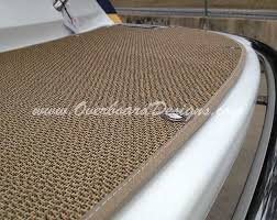 seagrass has become the most popular choice for exterior boat flooring in most boat types it is suitable for snap in with bound edges