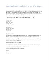 Teacher Cover Letter Examples Pdf Adriangatton Com