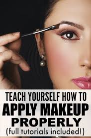 blush and eyebrows to eyeshadow and eyeliner this collection of makeup tutorials is just what you need to teach yourself not only how to apply makeup