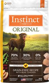 instinct by nature s variety original grain free recipe with real en dry dog food