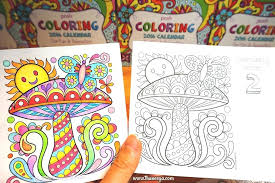 colored coloring pages free coloring calendar mushroom page by colored pencil coloring pages print