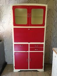 Ebay Used Kitchen Cabinets Retro Vintage Kitchen Cabinet Cupboard Unit Kitchenette Larder