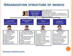 Fmcg Industry Organisation Structure