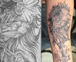 shiva tattoos and their meanings