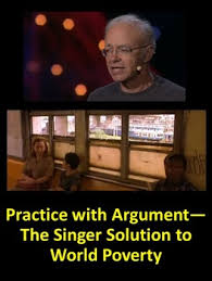 poverty teaching resources teachers pay teachers  practice argument the singer solution to world poverty