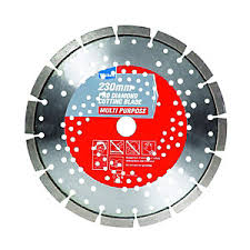 grinding cutting discs power tool accessories wickes co uk wickes pro diamond multi purpose cutting blade 230mm