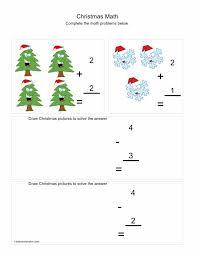 Santa Counting Worksheet Free Kindergarten Holiday For Printable ...