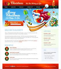Free Christmas Website Templates Free Christmas Website Template