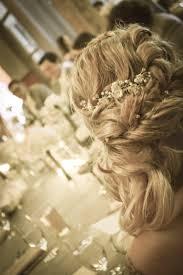 Obrazy žena Vlasy Antický Kvetina Svadobné Nevesta účes