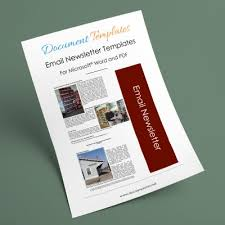 professional newsletter templates for word free newsletter templates download and edit in microsoft word