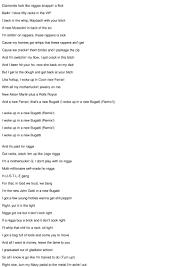 I woke up in a new bugatti. Bugatti Remix Lyrics Ace Hood