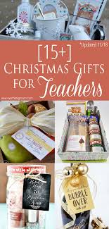 easy teacher gift ideas