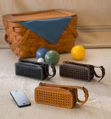 wireless speakers for office. leather bluetooth wireless speaker speakers for office t