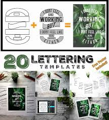 Lettering Templates Lettering Composition Templates Free Download