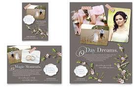 Wedding Planner Flyer Ad Template Design