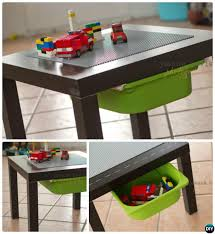lego table from ikea side table diy lego table project ideas for kids