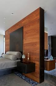 Interesting Modern Master Bedroom Designs With Wooden Wall This Is The In Ideas