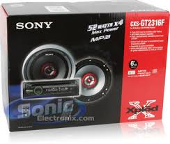 sony cxs gt2316f (cxsgt2316f) in dash cd, mp3, wma receiver w Sony Cdx Gt230 Wiring Diagram product name sony cxs gt2316f (cdx gt230 receiver xs gf1622x speakers combo) sony cdx gt210 wiring diagram
