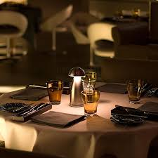restaurants lighting. neoz owl led cordless table lamp perfect for ambient lighting romantic dining experience restaurants