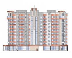 Купить дипломный Проект № ти этажный квартирный жилой  Проект №2 55 10 ти этажный 81 квартирный жилой дом в г