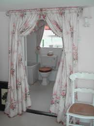 image of curtain room divider diy