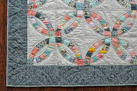 double wedding ring quilt | make something & Double Wedding Ring Quilt Adamdwight.com