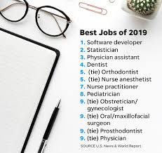 Vocational Careers List U S News Best Jobs Of 2019 Ranking These Jobs Rank The Best