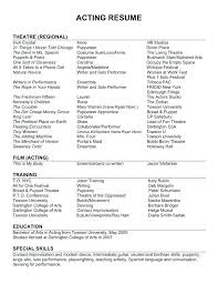 Beginners Resume Beginners Resume Examples One Page Resume Templates Free Samples