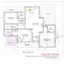four bedroom house plan kerala style with type and elevation fresh 4 double floor 11