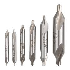 Us 7 88 31 Off Evanx 6 Pcs Hss Combined Center Drills Bit Set Countersinks 60 Degree Angle 5 3 2 5 2 1 5 1mm In Drill Bits From Tools On Aliexpress