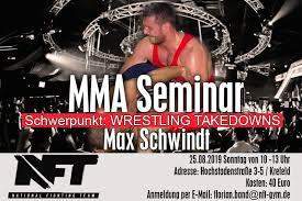 Skatiet 2 sociālās lapas, ieskaitot facebook un google, stundas, tālrunis, tīmekļa vietnes un sīkāku informāciju par šo biznesu. Wrestling Takedowns Seminar Mit Max Schwindt Fightevents De