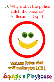 Small Picture Banana Jokes at Squiglys Playhouse