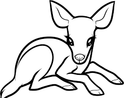 Coloring Pages Of Reindeer On Christmas Page Free Baby Chronicles