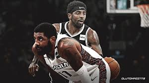Adidas kyrie irving cleveland cavaliers youth maroon jersey. Nets Video Kyrie Irving Gives Game Worn Shoes Jersey To Teary Eyed Kids