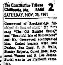 The Chillicothe Constitution-Tribune from Chillicothe, Missouri on November  25, 1961 · Page 2