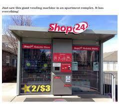 24 Hour Vending Machine Store Stunning Very Interesting Photos 48 Pics