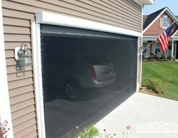 retractable garage door screensRetractable Garage Screen for Double and Single Garages  Stoett