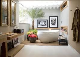 bathroom design styles. Astonishing Mediterranean Bathroom Design With Interior Styles Furnished White Bathtub Completed Wall Cabinets