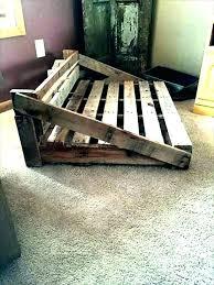 wooden dog bed pattern foot of the frame wood plans beds furniture pallet home designer suite
