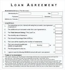 Sample Loan Agreements Equipment Loan Agreement Template