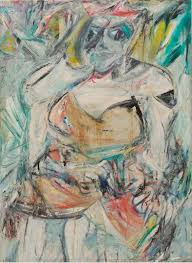 willem de kooning woman ii 1952 oil enamel and charcoal on canvas