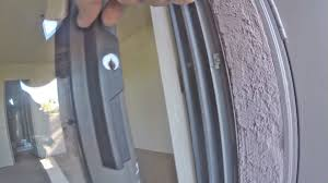 how to install patio porch sliding glass door lock plus key alike match front maintenance